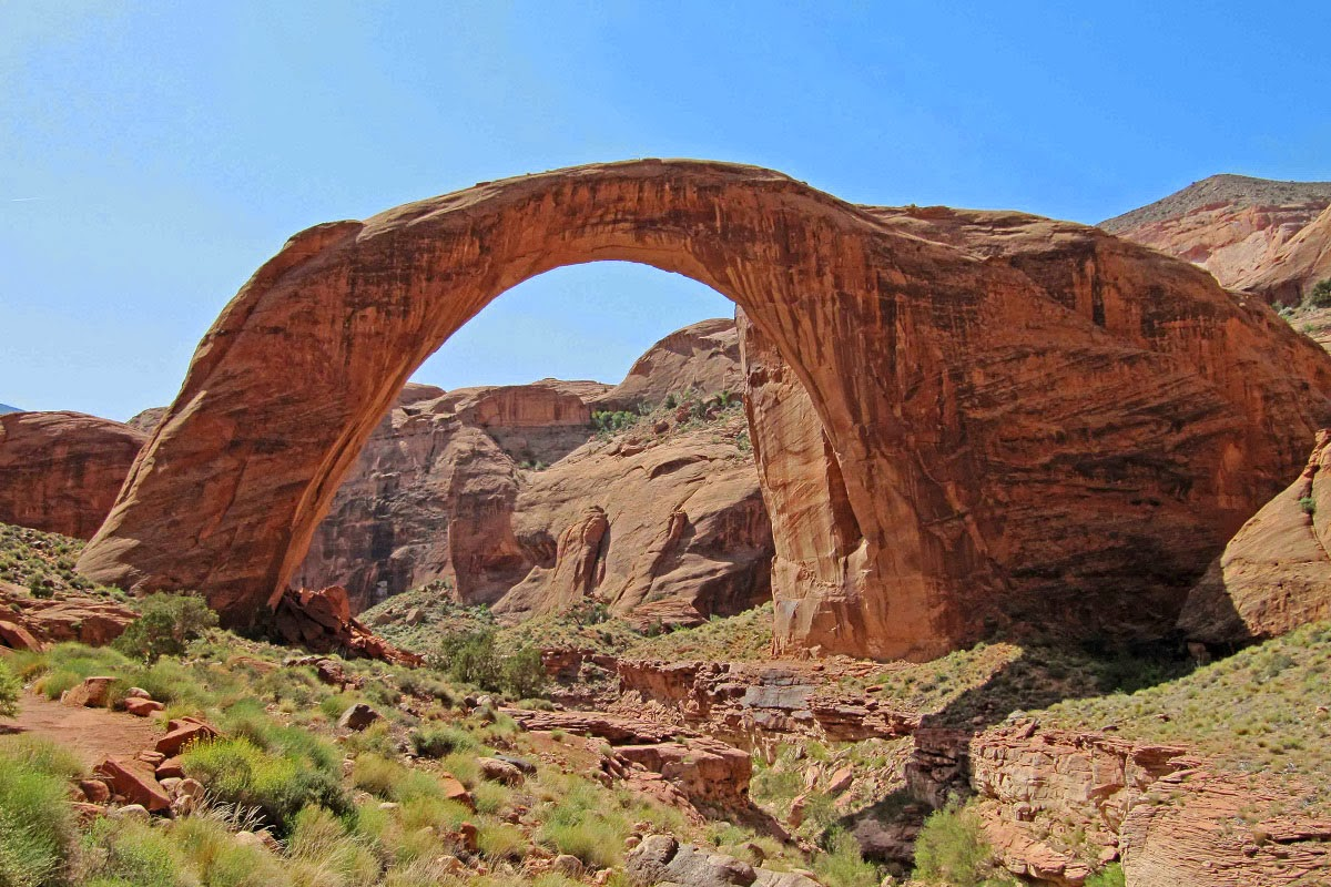 Rainbow Bridge National Monument is administered by Glen Canyon ...