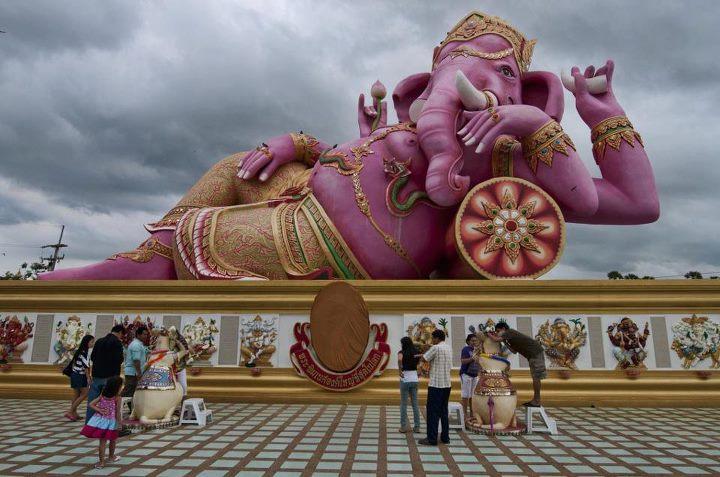 Ganesh statue in the Nakhon Nayok Museum