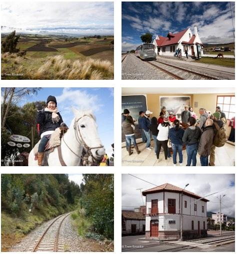 Turismo en Ecuador – Viaje turístico en Tren – Tour tren del hielo II