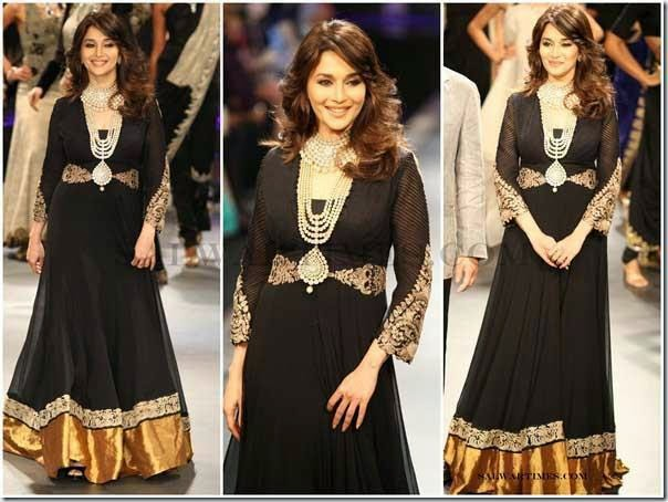 Madhuri Dixit in Black suit