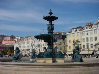 La baixa de Lisboa