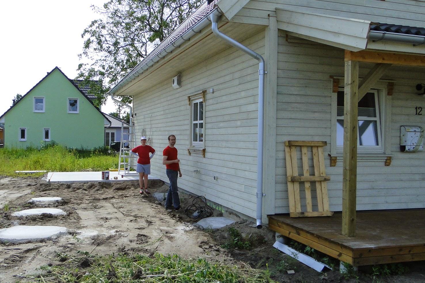 Haus bauen baustelle  Alex und Vreni bauen ein Haus