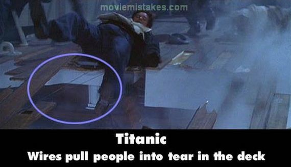 Mistakes in Movie Titanic