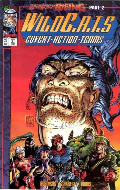 WildC.A.T.s 20 Cover Barry Windsor Smith