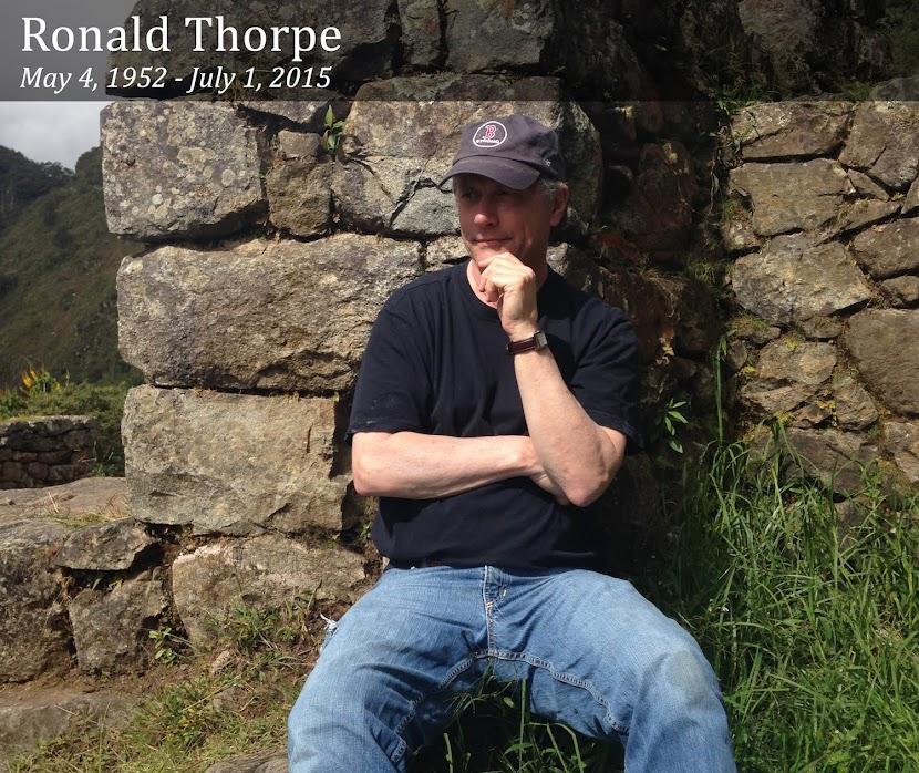 Ronald Thorpe (1952 - 2015)