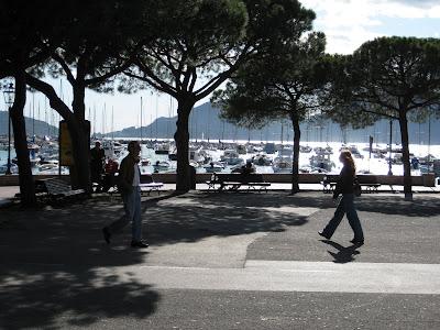 Lerici seaside vacation walk