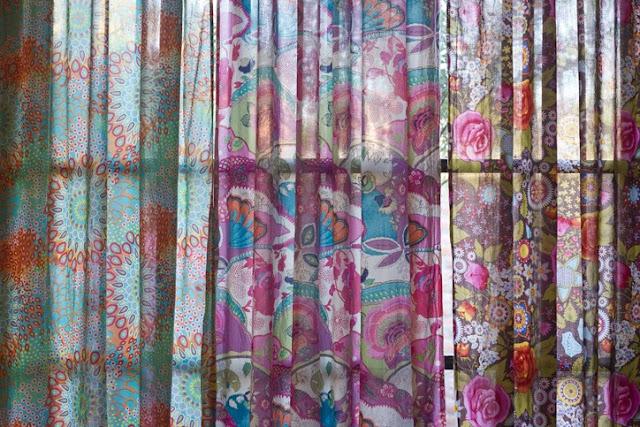 cortinas estampadas originais