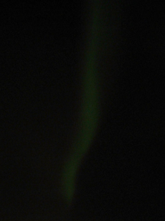 How to find Northern Lights - green aurora