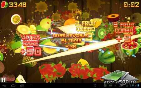 Fruit ninja для андроид абсолютный хит