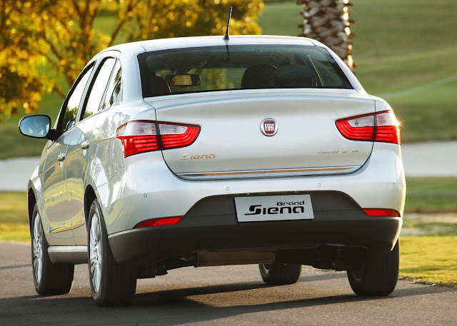 Novo Fiat Siena 2012-2013 - Attractive