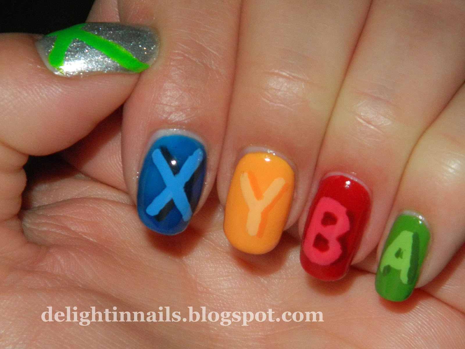 Delight In Nails: Geek Challenge Day 4: Ultimate Geek