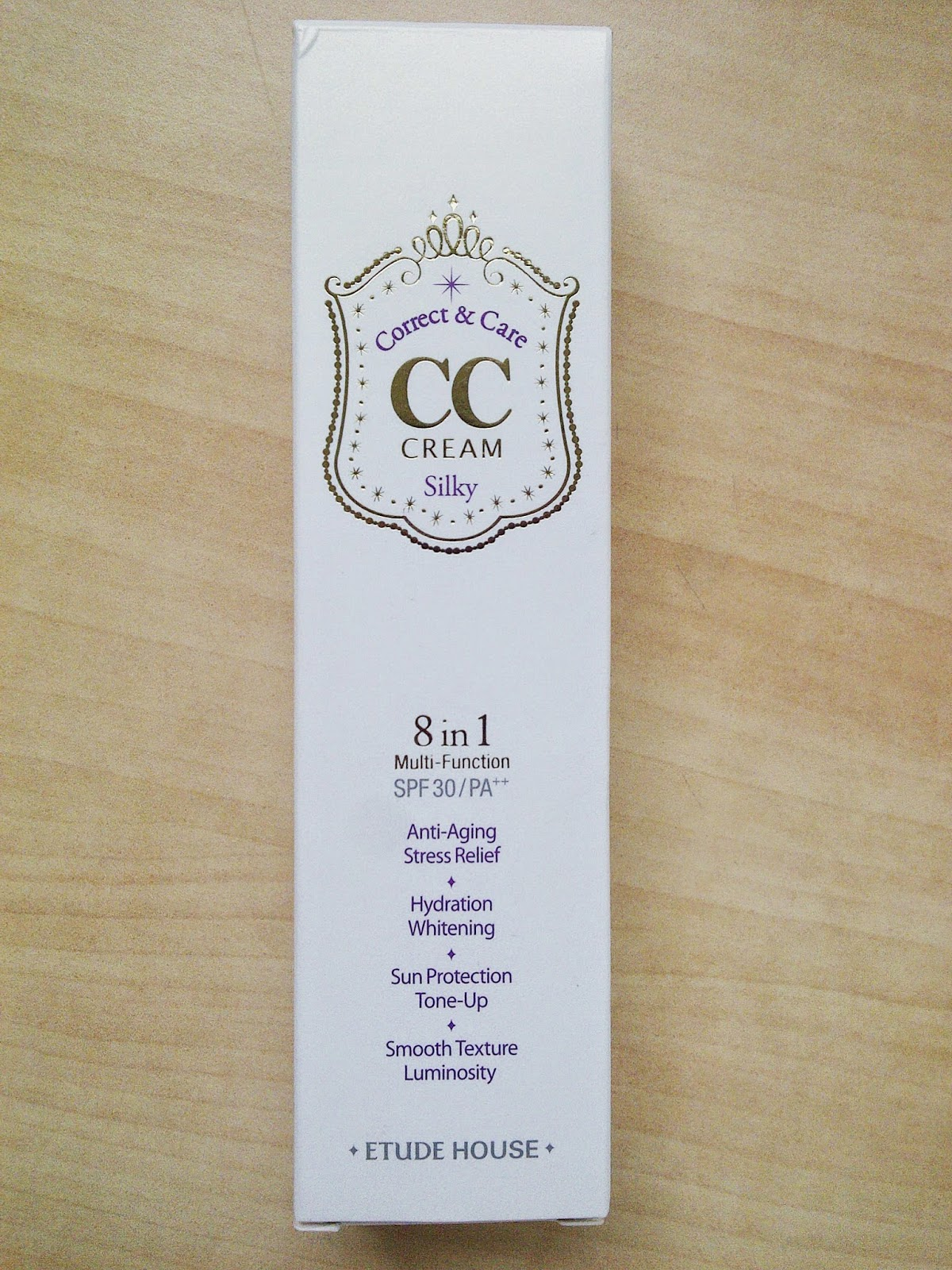 Phieselphie Etude House Cc Cream Silky 8 In 1 Spf30 Pa