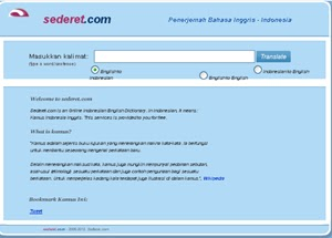 Kamus Bahasa Inggris Indonesia Online