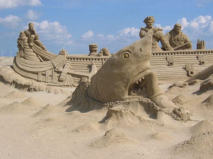 SEXY WOMAN: Beautiful Sand Art
