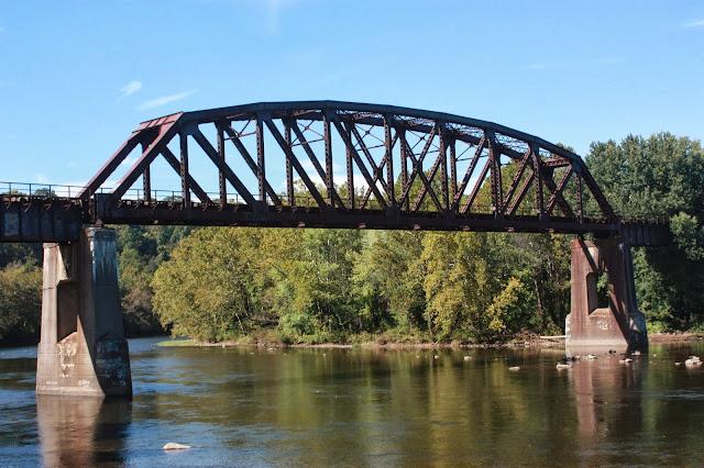 Bridge crossing Youghiogheny River