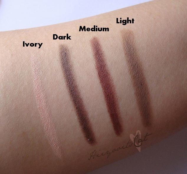 elf eyebrow kit medium vs dark. elf studio brow kit in light review the beauty bin eyebrow medium vs dark o