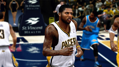 NBA 2K13 Paul George Indiana Pacers Playoffs Update