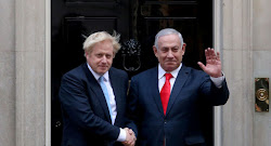 UK PM Johnson and Israelie PM Netanyahu Agree on Need to Prevent Iran From Getting Nuclear Weapon