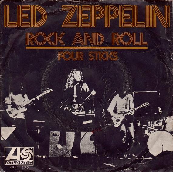 Led Zeppelin The Sticks That Shock The World