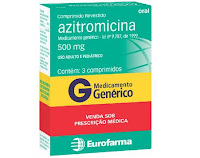 Antibiótico Azitromicina