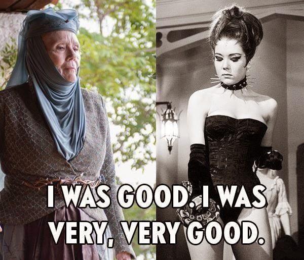 #GameOfThrones Olenna Tyrell Rollin :) #Season4 Meme