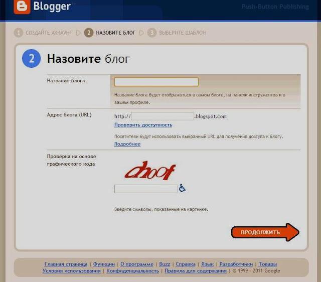 доменное имя блога