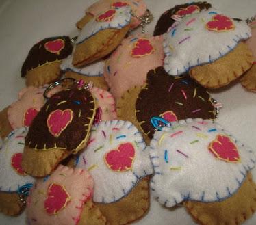 Chaveiro Cupcakes