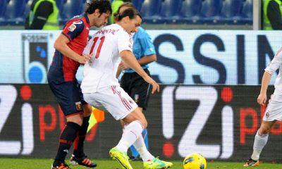 Genoa Milan 0-2 highlights sky