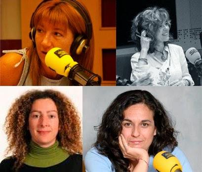 Ana Guantes, Paloma Delgado, María José Agejas, Pilar Vicente