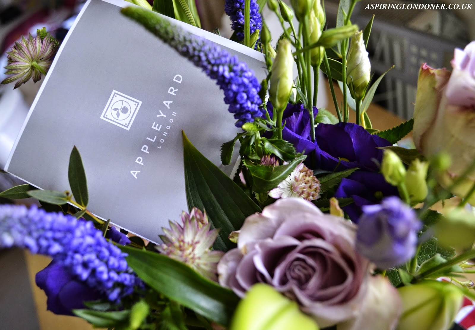 Appleyards London Liberty Luxury Bouquet Review - Aspiring Londoner