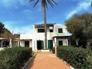 Villa Due Palme di Silvio Berlusconi a Lampedusa