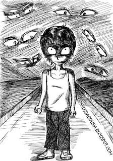 menino estranho - conto de drama - violencia