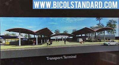 Virac Public Market transport terminal