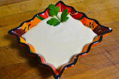 Salsa de mostaza y yogur.