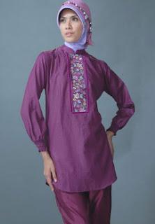 busana muslim setelan 2161 Model Baju Muslim Modern Terbaru 2013