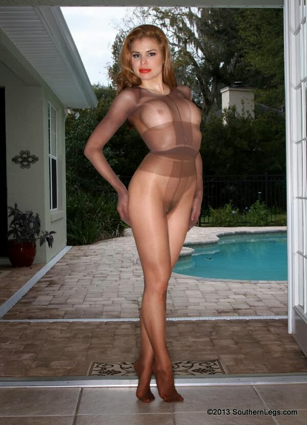 pantyhose Southern in legs models
