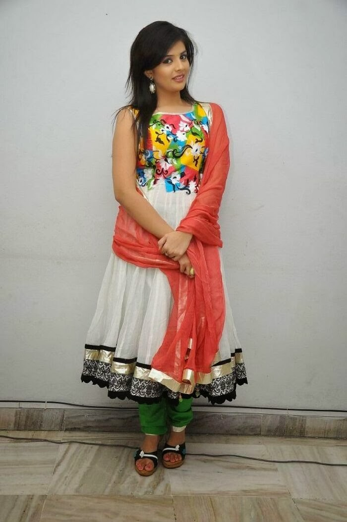 Sree mukhi photos in salwar kameez at prema ishq kadhal audio success meet function