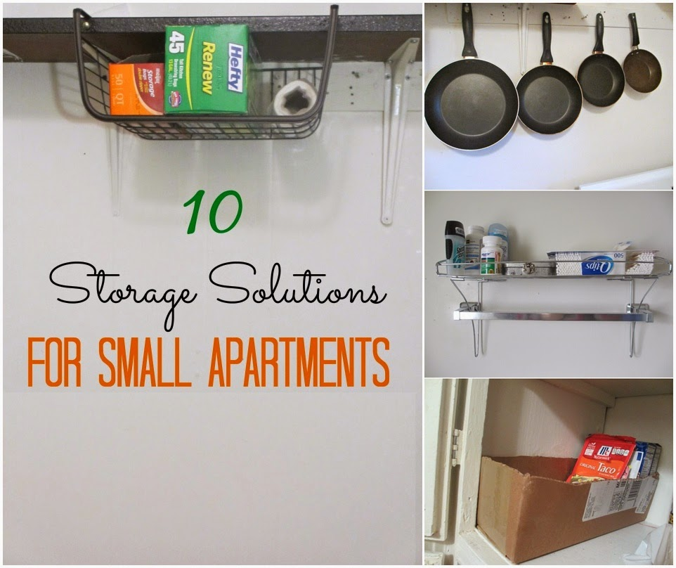 small apartment storage solutions via