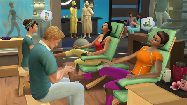 The Sims 4 Spa Day Download Photo