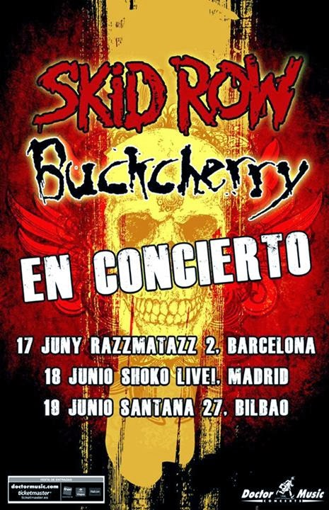 Skid Row + Buckcherry