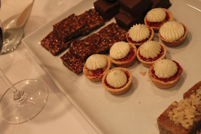 Desserts at Grill 23, Boston, Mass.