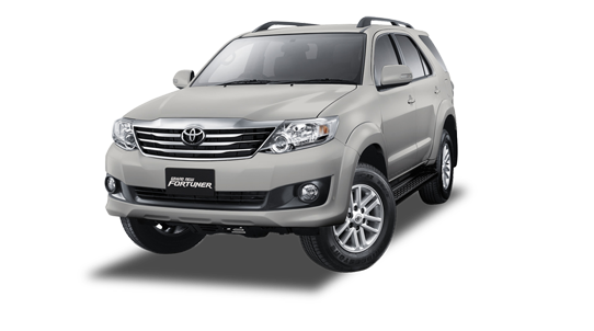 Grand New Fortuner Silver Metallic