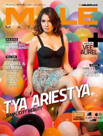 Download Majalah MALE Mata Lelaki 061 - Tya Ariestya, Simplicity Beauty   insight-ZONE