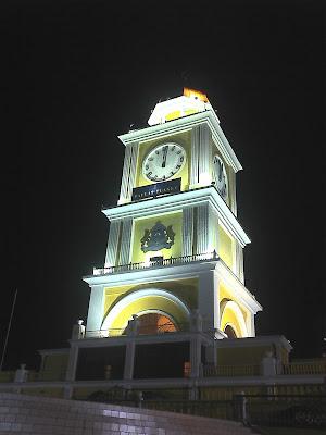 Menara Jam Di Dataran Bandaraya Johor Bahru