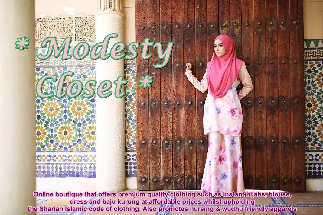 <center>Modesty Closet</center>