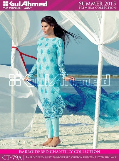 Chantilly De Chiffon Summer Collection by Gul Ahmed 5