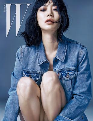 Bae Doo Na - W Magazine October Issue 2015
