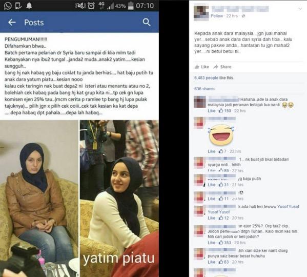 Wanita pelarian Syria jadi bahan kelakar, ini ulasan sentap dari Ida Nerina