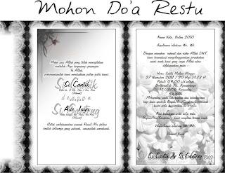 pembuatan undangan kepada anda yang sibuk mengurus undangan pernikahan