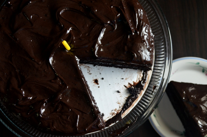 Recipe for moist chocolate fudge cake